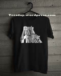 T Shirt Kaos Arctic Monkeys I Just Wanna Be Yours Lyric kaos band arctic monkeys desain vintage dan unik untuk