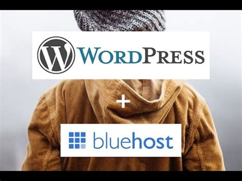 bluehost wordpress tutorial youtube how to install a self hosted wordpress blog with bluehost