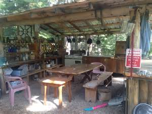 The Backyard Kitchen The Outdoor Kitchen At Bruce And Pat S In Montana The