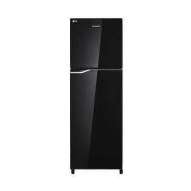 Kulkas 2 Pintu Panasonic Di Carrefour jual panasonic nrbb258gk kulkas hitam 2 pintu 246l