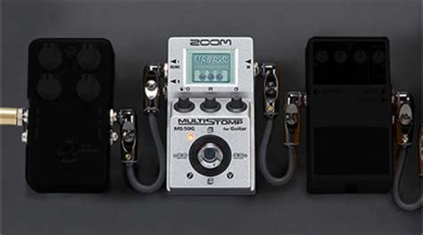 Zoom Ms50g Ms 50g Ms 50g Multistomp Pedal Zoom Ms 50g Multistomp Multi Effects Pedal Sweetwater