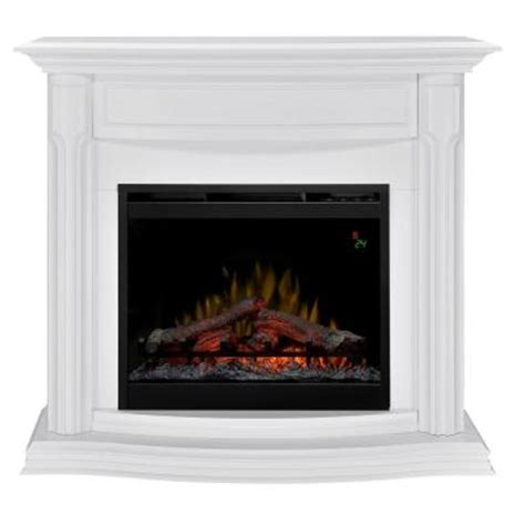 electric fireplace heater home depot dimplex gwendolyn 48 in compact electric fireplace in