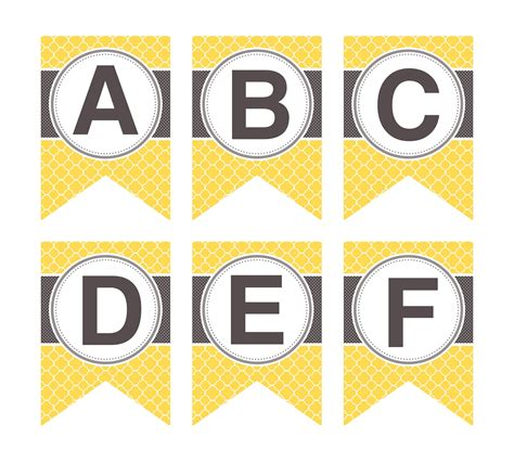 printable alphabet for banner printable banner letters template docoments ojazlink