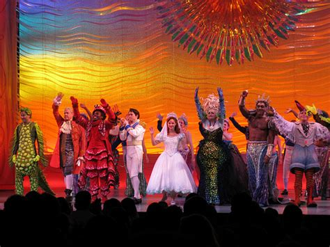 broadway curtain call the little mermaid on broadway curtain call flickr