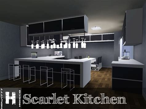 kitchen mod mod the sims scarlet kitchen 11 12 2011 updated