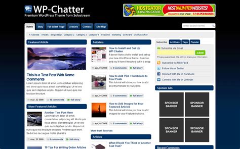 how to set up your home page wp chatter