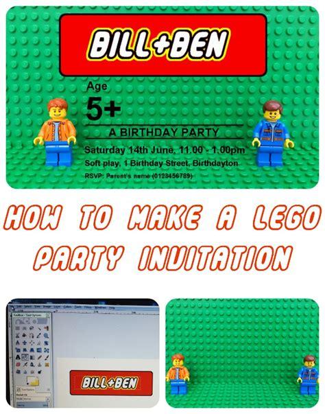Personalised Lego Birthday Party Invitation Theboyandme Lego Birthday Invitation Template