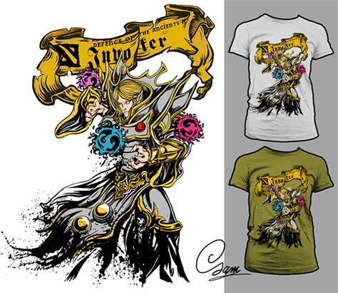 Tshirt Dota2 t shirt design for dota2 on behance