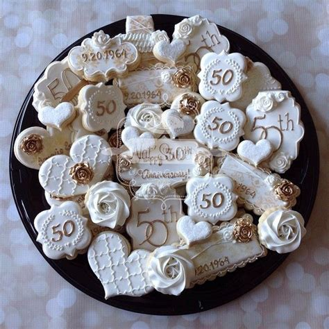Wedding Anniversary Ideas Sugar by Best 25 Anniversary Cookies Ideas On 50