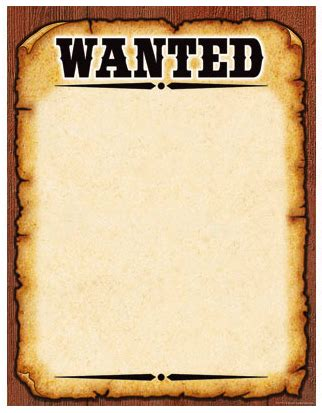 What S The Simplest Way Of Fashioning A Wanted Poster Powerpoint Wanted Poster Template