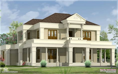 luxurious home plans luxurious villa exterior design kerala home floor plans
