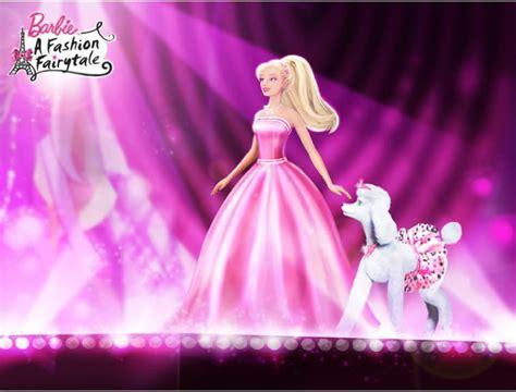 film barbie in a fashion fairytale barbie a fashion fairytale first model barbie movies