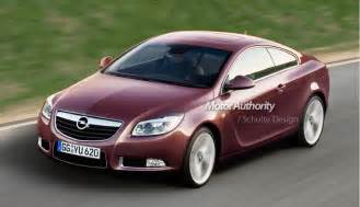 Opel Insignia Coupe Preview Opel Insignia Gtc Coupe