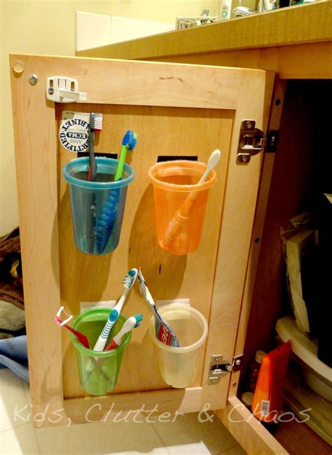 organizing kids bathroom 17 best ideas about toothbrush organization on pinterest