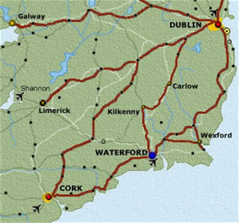 map of waterford city sun financial getting here