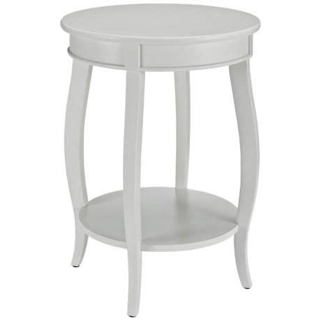 white round accent table kraven round white accent table