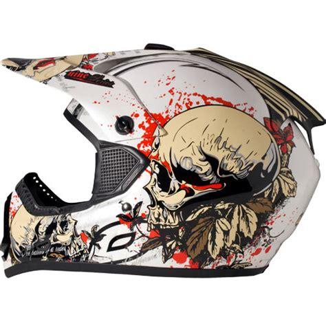 big and motocross gear 2009 9 series helmet bones motocross