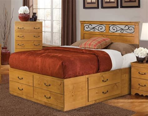 Kith Furniture by Kith Furniture Kenneth Creek Panel Bedroom Set 255 Bed Set