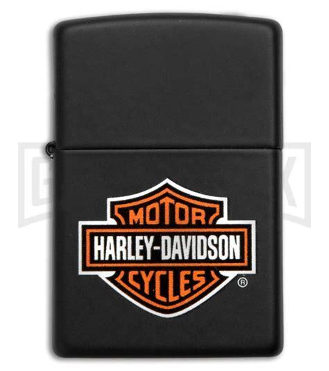 Harley Davidson Zippo Lighter by Zippo Lighter 218hd Harley Davidson Logo Grindworx