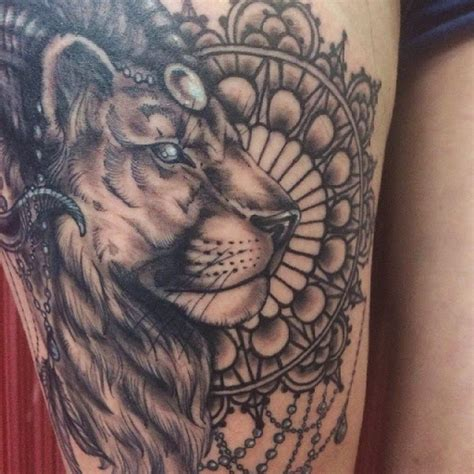 lion tattoo meaning profile