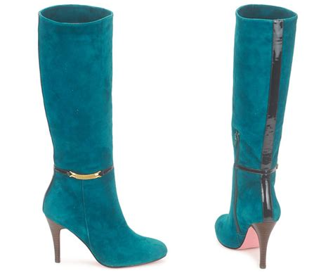 edith ella teal suede knee high boots gt shoeperwoman