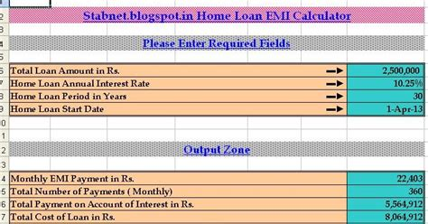 house loan calculation housing loans hdfc housing loan emi calculator
