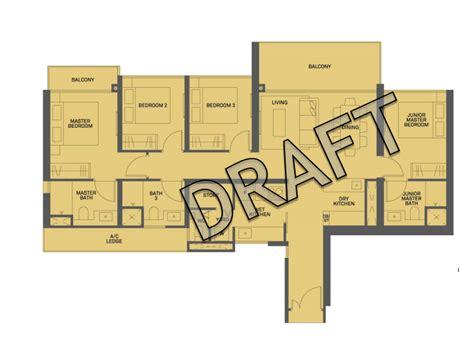 canopy floor plan clement canopy floor plan 4 br 1346sqft temasekhome