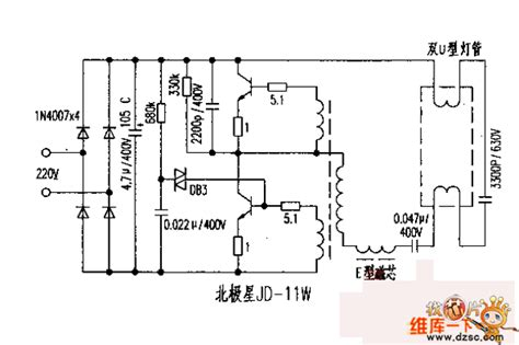 circuit diagram of electronic choke polaris jd 11w electronic ballast circuit diagram basic