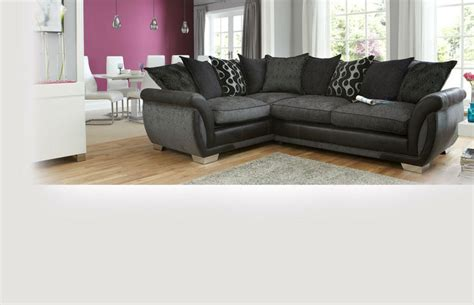 dfs shannon corner sofa right hand facing 3 seater pillow back deluxe corner sofa