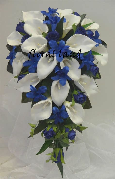 calla and orchid bouquet wedding bouquet silk