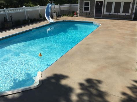 pool deck staining  east hartford ct diamond kote