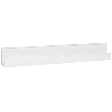 narrow picture ledge straight narrow book ledge white the land of nod