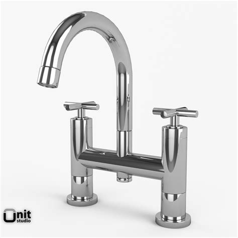 Hudson Reed Faucets by Bathroom Faucets Collection Hudson Reed Helix 3d Model Max