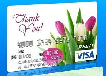 Visa Gift Cards In Bulk - thank you visa gift card w tulips china wholesale thank you visa gift card w tulips