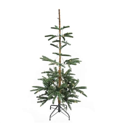 big 75 8 artificial christmas tree 4 5 pre lit layered noble fir artificial tree warm clear led lights central