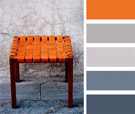 what colors go with burnt orange burnt orange gray and blue palette casamidy palette