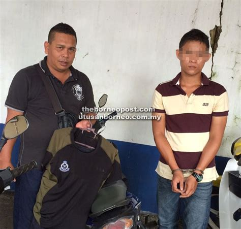 Baju Istiadat Anggota Polis menyamar anggota polis lelaki berdepan tindakan undang undang utusan borneo