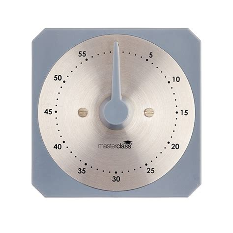 Mechanical Timer Timer Manual Timer Mechanical Kitchen Timer masterclass one hour mechanical timer timers thermometers preparing products kitchen craft
