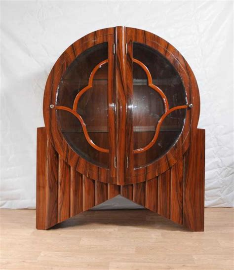 art deco furniture designers art deco display cabinet bookcase rosewood vintage