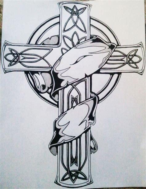 celtic cross tattoos tumblr celtic cross design on paper tattoomagz