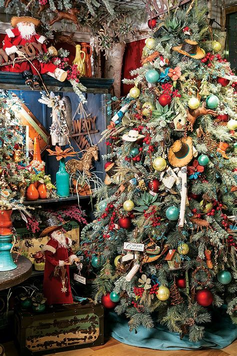 decorated cowboy tree now here s a cowboy s tree exploding with rich vibrant color western