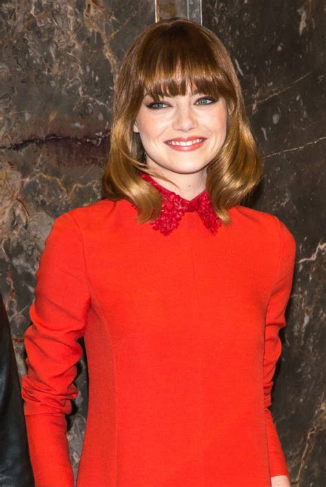 emma stone recent emma stone at empire state building in new york hawtcelebs