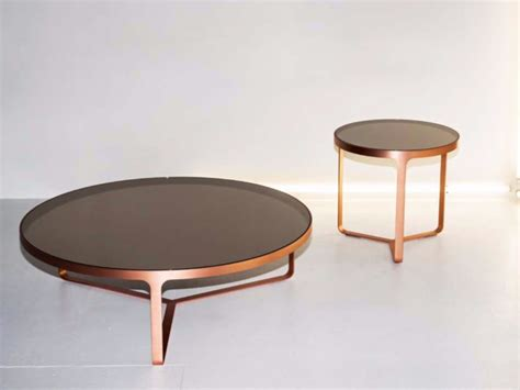 CAGE Glass coffee table by Tacchini Italia Forniture design Gordon Guillaumier