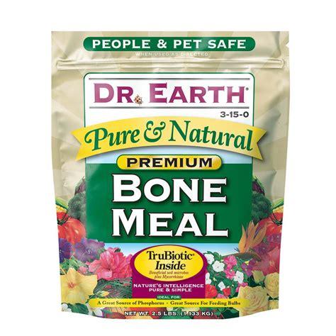 dr earth  lb premium bone meal   home depot