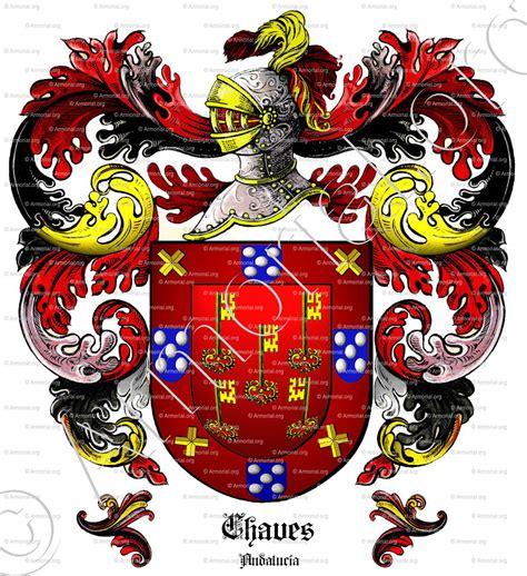 Armoirie De Famille by Chaves Armoiries Blason Etymologie Et Origine Nom De