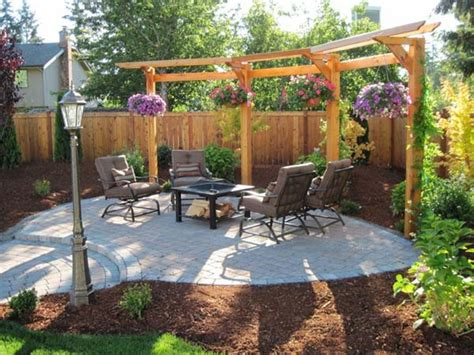 backyard l post 24 inspiring diy backyard pergola ideas to enhance the