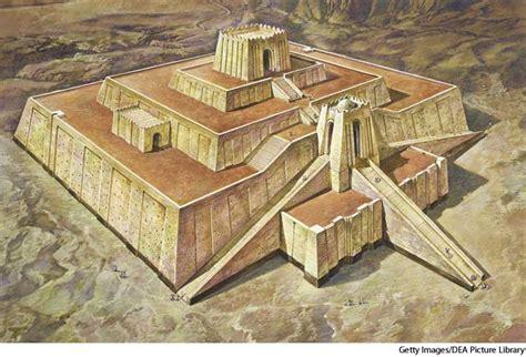 Ur Landscape Definition Part I Ziggurats The Ziggurat Was A Typical Feature Of