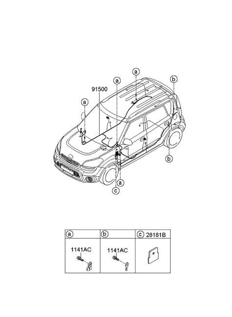 2013 Kia Soul Wiring Harness-Floor - Kia Parts Now