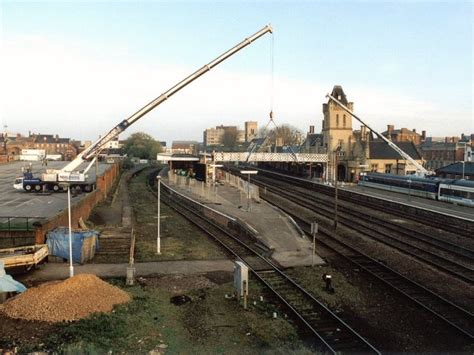 file lincoln station footbridge replacement geograph org