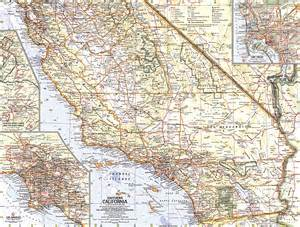 of southern california cus map southern california map
